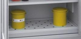 505249 Afdekking Van Perforatieplaat,  v. bodemopvangbak