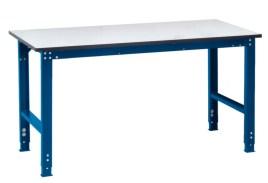 100833 ESD-montagetafel,  HxBxD 770-870x1250x800mm