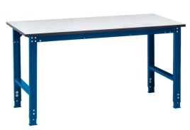 100837 ESD-montagetafel,  HxBxD 770-870x2000x1000mm