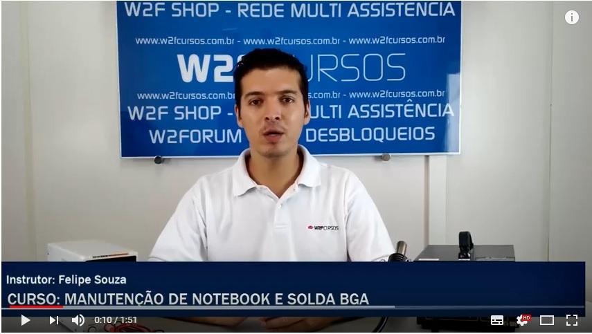 Curso de Manutenção de Notebook + Solda BGA + Reparo de Placa + Tablet