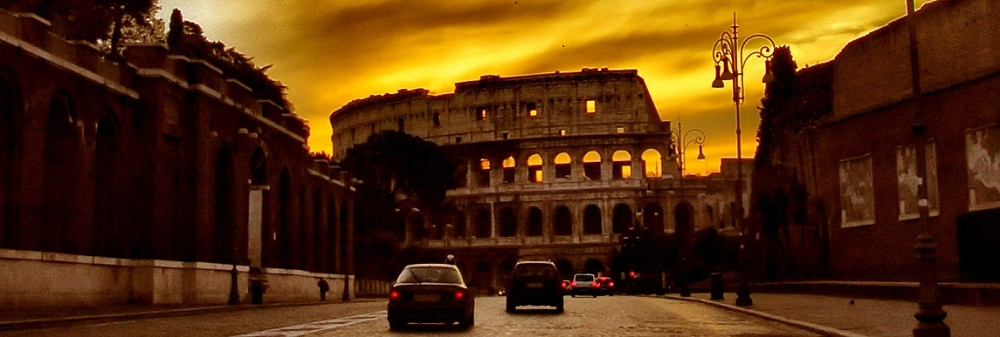 A road in Rome