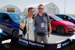 seat driving experience jordi gene seat leon cupra st 2.0 TSI 300ks