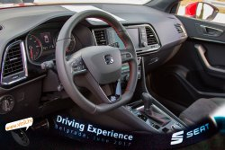 seat driving experience seat ateca fr 4drive dsg inside