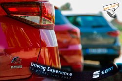 seat driving experience seat ateca fr 4drive red