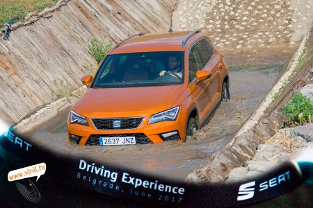seat driving experience seat ateca fr offroad