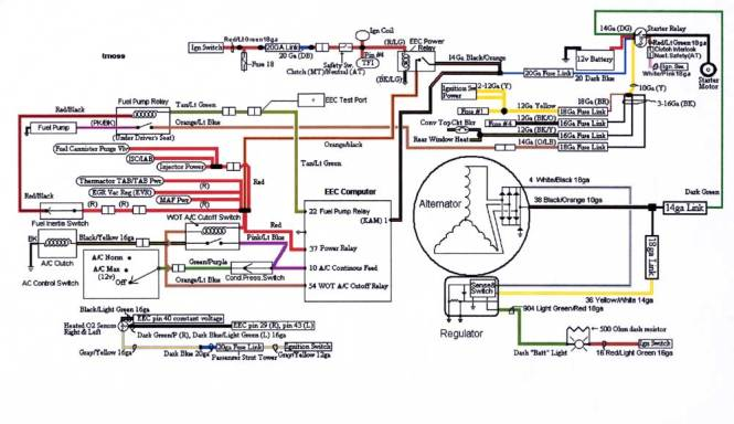 auto alternator wiring diagram wiring diagram smart car alternator wiring diagram schematics and diagrams typical externally regulated to internally