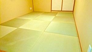 置き畳をサイズオーダーして、本格的な琉球畳の和室を実現 東京都
