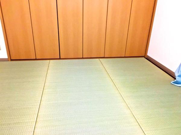1畳サイズの畳を3枚