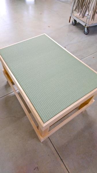 畳の展示用什器