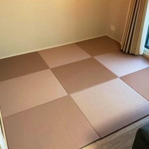 3歳になる息子がおり、洋室に使用予定です。陽の光も当たるのですが、和紙畳の方が長持ちしますか?