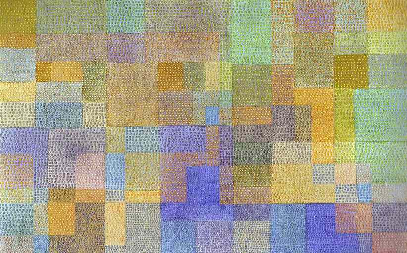 P. Klee, Polyphony, 1932