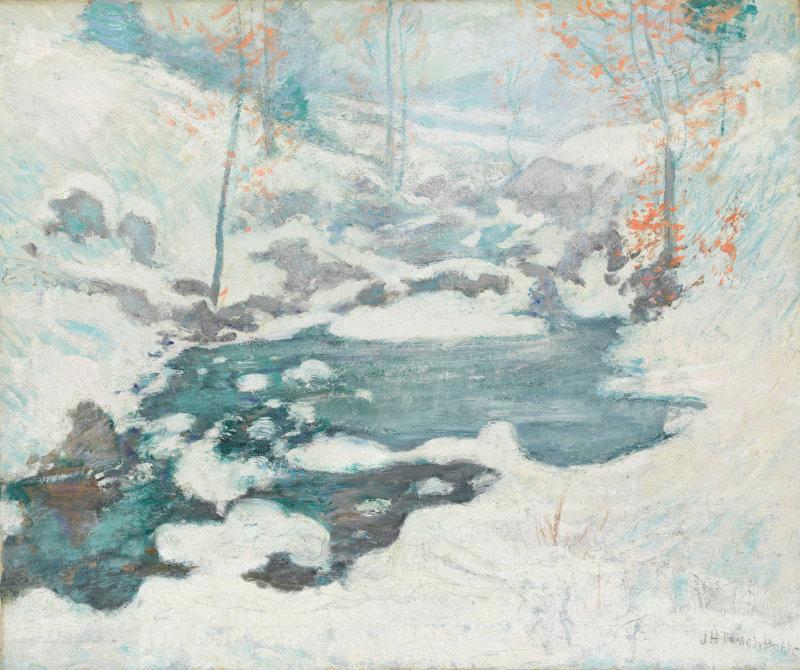 Icebound (John Twachtman)