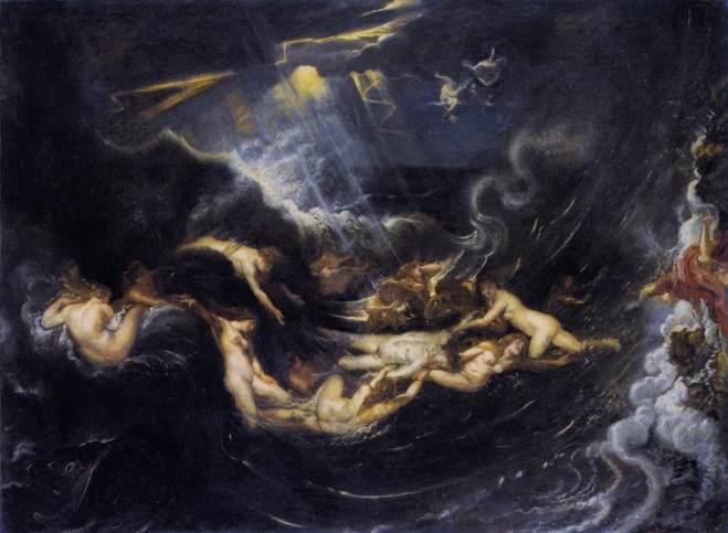 Héro et Léandre, Peter Paul Rubens