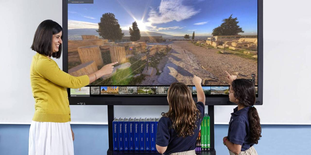 Un écran tactile pour préserver la santé des enseignants ?