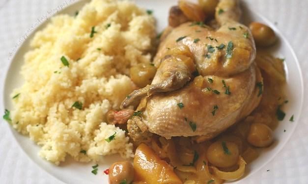 Tajine de poulet aux olives et citrons préservés (طاجن الدجاج مع الزيتون والليمون المحفوظة)
