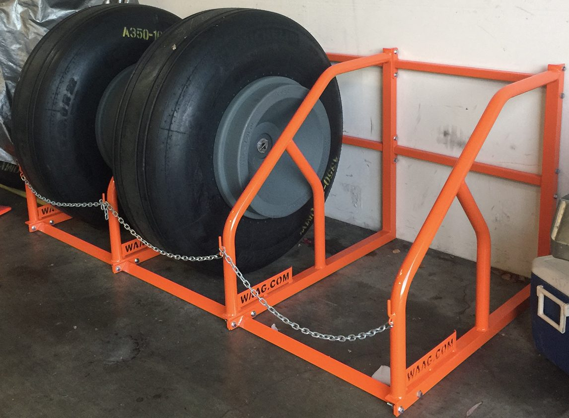 tire rack waag aviation ground