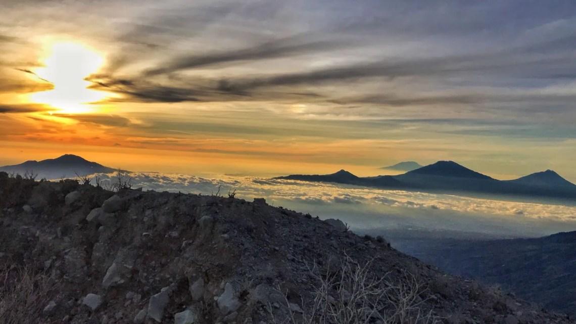 vulkaan java Gunung Sindoro