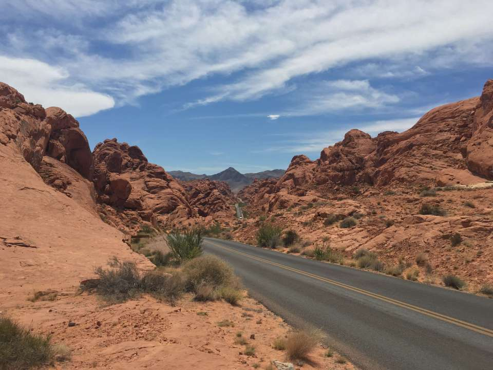valley of fire roadtrip westkust amerika