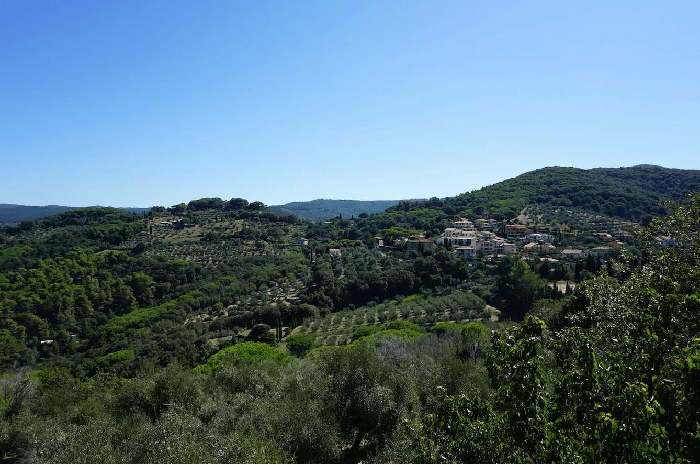 wijnroute toscane