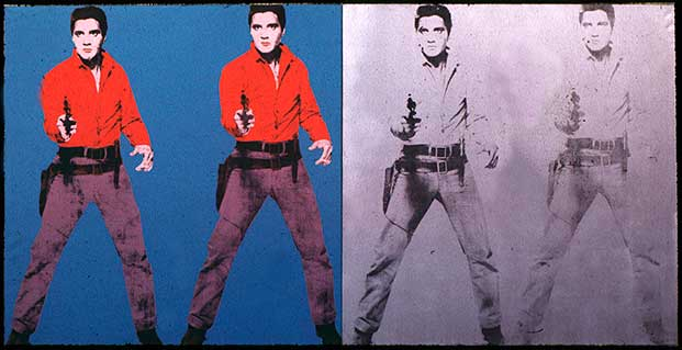 Elvis-Andy Warhol