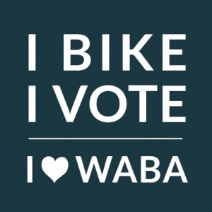 I Bike I Vote Profile Pic