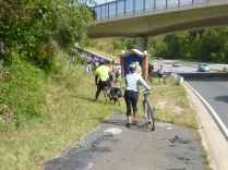 Suitland Parkway Trail at the District line