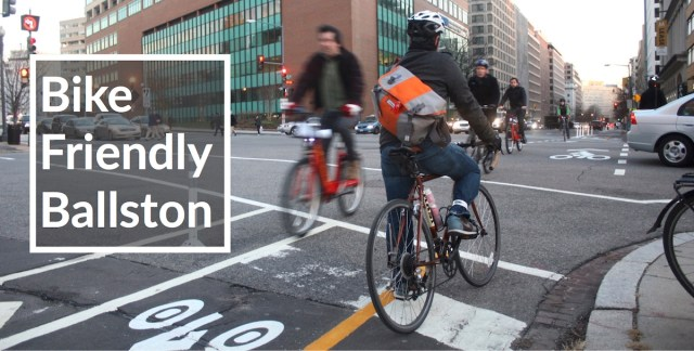 WABA's Action Committee for Arlington County is working to make Ballston a better Place to bike