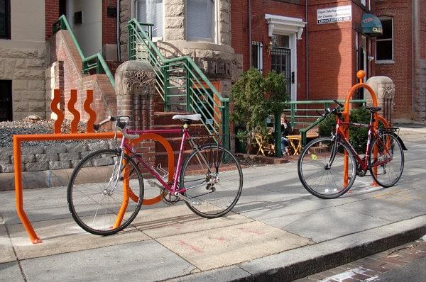 Coffee bike racks