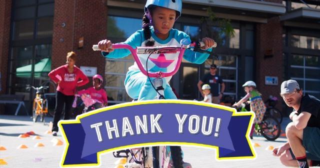 bike campus thankyou