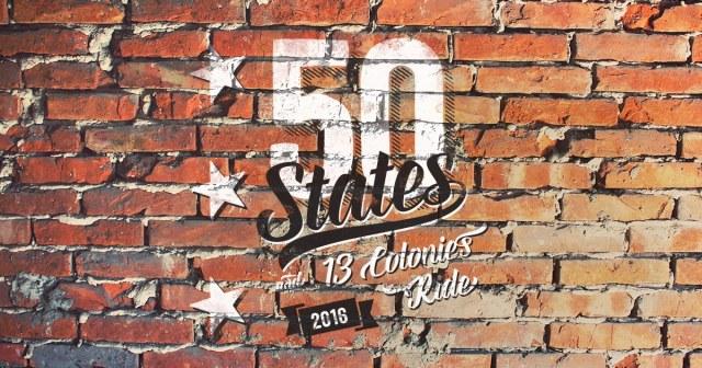 50 States 2016 Banner
