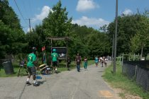 Marvin Gaye Trail is busy!