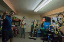 Behind the scenes (L-R): Tom (DC Trail Ranger/501pix Photography), Ursula (Program Coordinator), Daniel (DC Trail Ranger) and Trey (DC Trail Ranger)