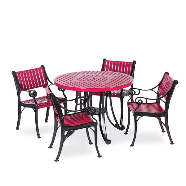 round outdoor patio table table only classic series portable