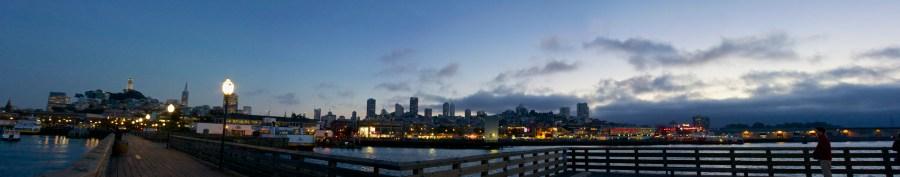 SF Piers Skyline