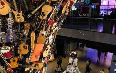 Rocknado at the EMP Museum