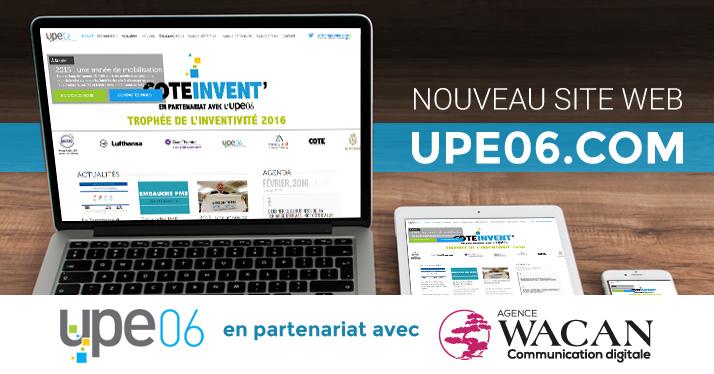 Mise en ligne du nouveau site de notre partenaire UPE06