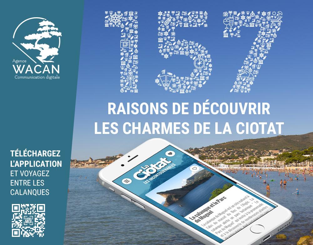 Application e-tourisme de la Ciotat