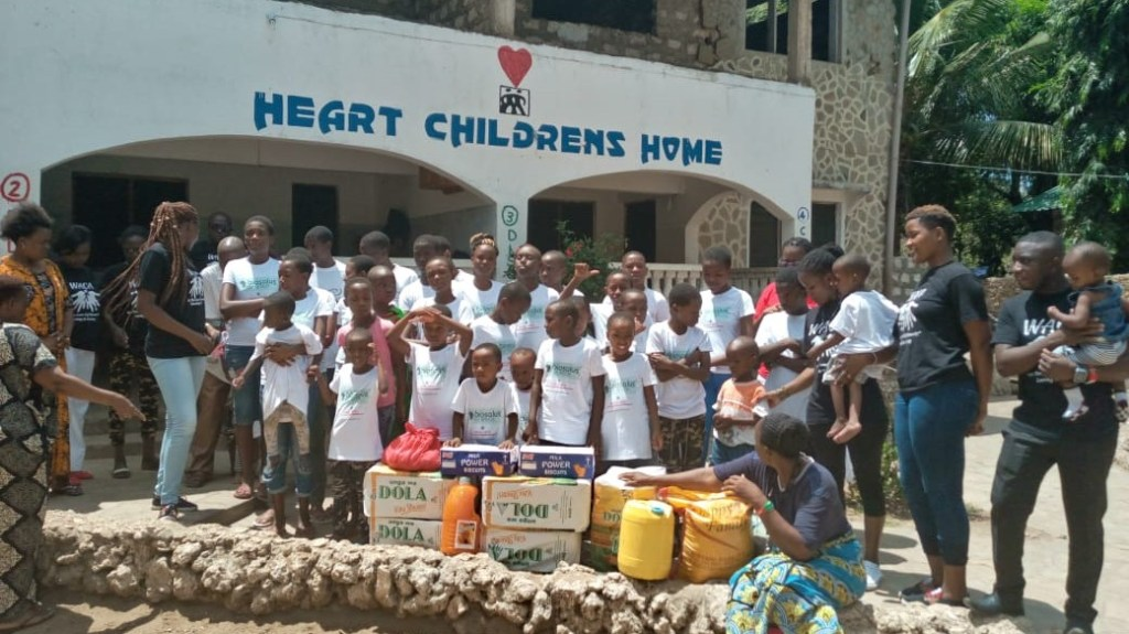 VISIT TO HEART CHILDREN HOME