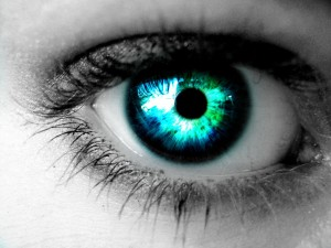 """Blue-Green Eye"" von CheshireelimS - Lizenz: CC BY-ND 3.0"