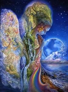 Kollektives Bewusstsein in Form von Gaia