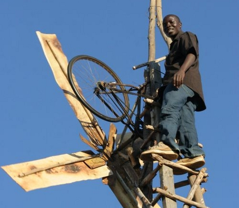 William Kamkwamba windmill Windmühle