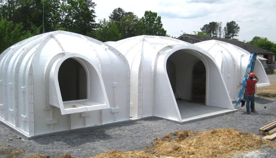 dieses vorgefertigte hobbit haus kann innerhalb von 3 tagen gebaut werden wach auf. Black Bedroom Furniture Sets. Home Design Ideas
