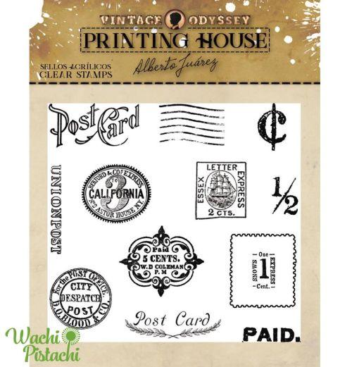 Sellos Postal Cards - Alberto Juárez
