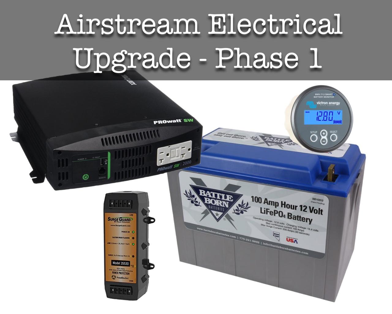 Airstream Electrical System Upgrade Phase I Wacky Wanderersrhwackywanderers: Airstream Tv Wiring Diagram At Gmaili.net