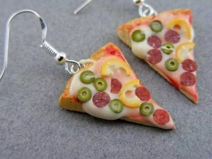 Funny Pendants and earrings in the form of food – Part 3 -24