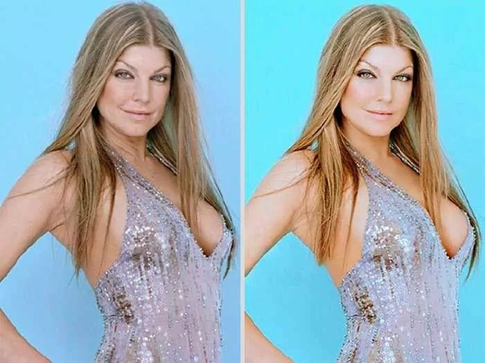 26 Celebrities Before & After Photoshop Will Blow Your Mind -23