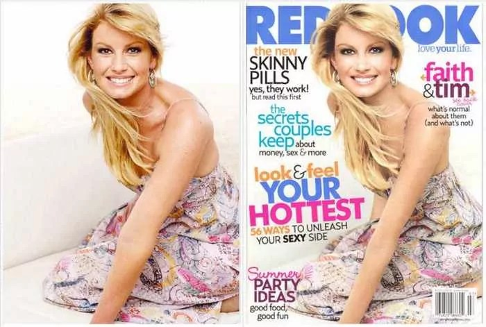 26 Celebrities Before & After Photoshop Will Blow Your Mind -26