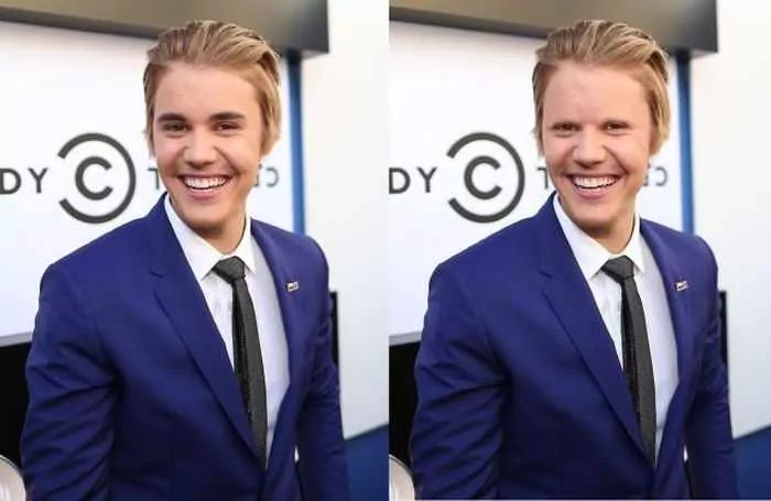 18 Celebrities With And Without Eyebrows - Justin Bieber