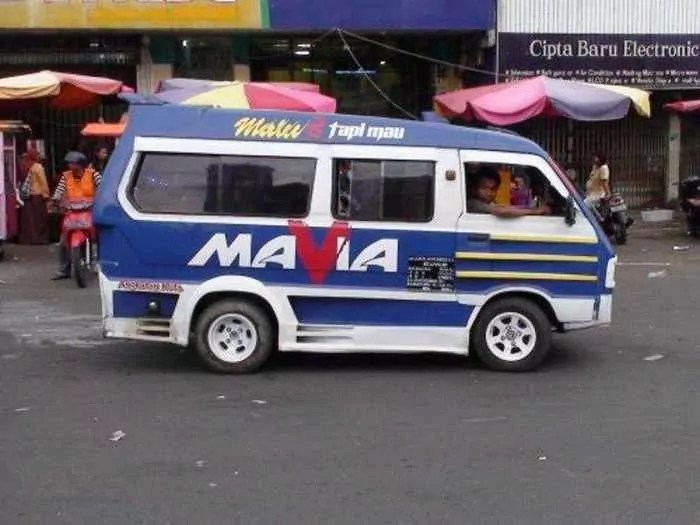 Meanwhile Creative Funny Cars In Indonesia - 16 Pics -11