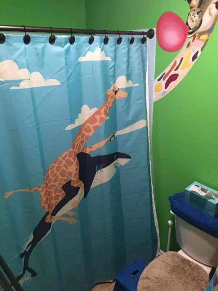 31 Funny Creative Shower Curtains That Will Make Your Day -15